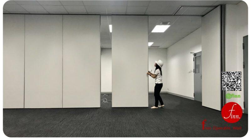 finn Operable Wall คือ ผนังบานเลื่อนกั้นห้อง กันเสียงได้